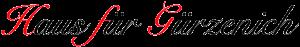 Logo Haus für Gürzenich